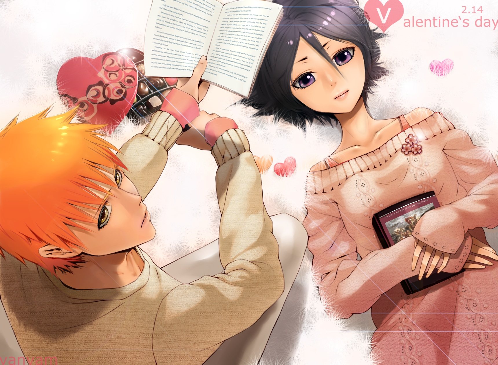 Top 5 guys we would date happy valentine s day uper - Happy valentines day anime ...